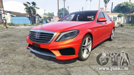 Mercedes-Benz S63 red brake caliper [add-on] pour GTA 5