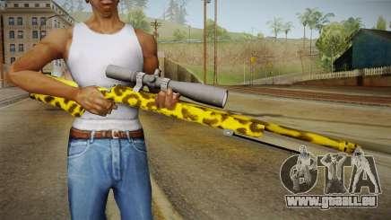 Leopard Sniper Rifle für GTA San Andreas