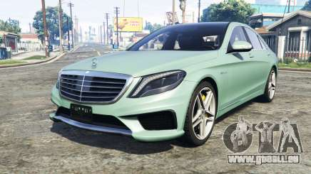 Mercedes-Benz S63 yellow brake caliper [add-on] pour GTA 5