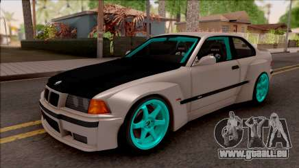 BMW M3 E36 Drift Rocket Bunny pour GTA San Andreas