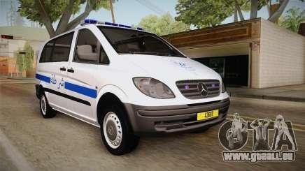 Mercedes-Benz Vito Algerian Police für GTA San Andreas