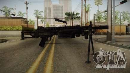 Mirror Edge FN Minimi pour GTA San Andreas