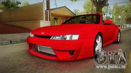 Nissan 200SX Cabrio Tuned für GTA San Andreas