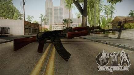 CS: GO AK-47 Jaguar Skin für GTA San Andreas