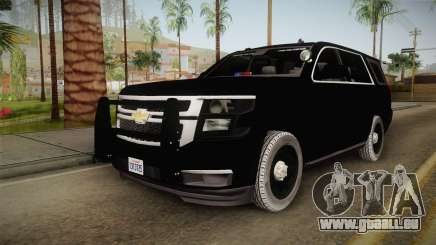 Chevrolet Tahoe 2015 Police pour GTA San Andreas