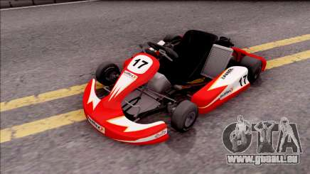 Shifter Kart 125cc pour GTA San Andreas