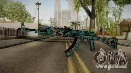CS: GO AK-47 Frontside Misty Skin für GTA San Andreas