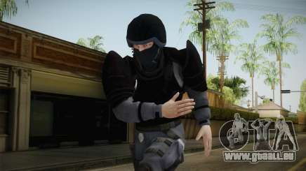 Mirror Edge Cop Heavy v1 pour GTA San Andreas