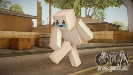 The Binding Of Isaac Skin - Minecraft Version pour GTA San Andreas