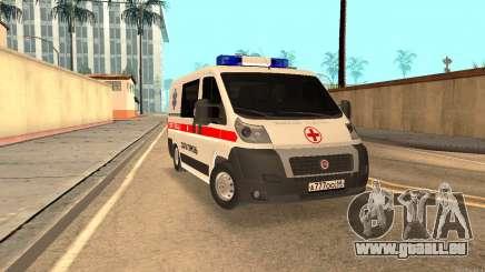 Fiat Ducato Ambulance pour GTA San Andreas