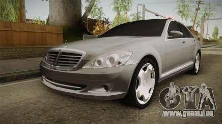 Mercedes-Benz S500 2013 pour GTA San Andreas