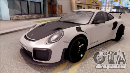 Porsche 911 GT2 RS 2017 EU Plate pour GTA San Andreas