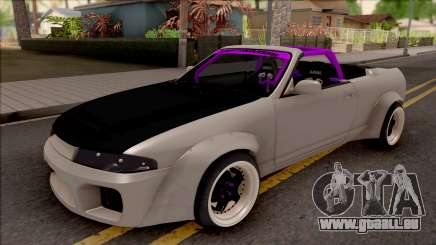 Nissan Skyline R33 Cabrio Drift Rocket Bunny pour GTA San Andreas
