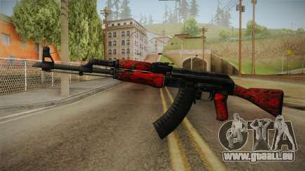 CS: GO AK-47 Red Laminate Skin pour GTA San Andreas