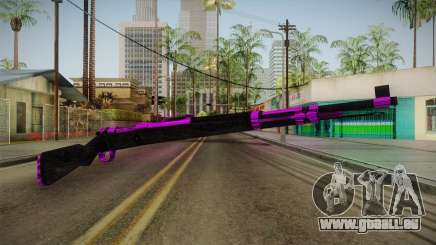 Purple Rifle für GTA San Andreas