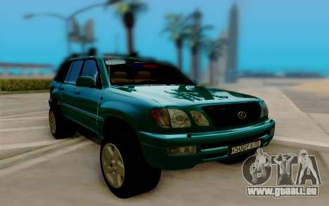 Lexus LX470 FBI pour GTA San Andreas