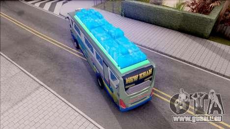 New Khan Bus G pour GTA San Andreas vue arrière