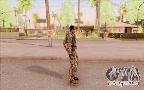 Degtyarev dans l'exosquelette de la Liberté de S pour GTA San Andreas troisième écran