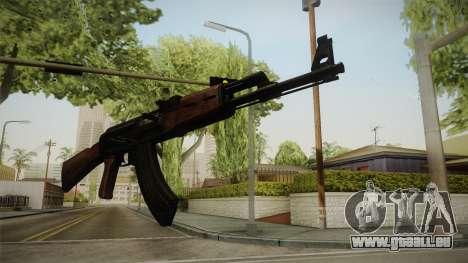 Call of Duty WWII AK-47 für GTA San Andreas dritten Screenshot