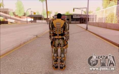 Degtyarev dans l'exosquelette de la Liberté de S pour GTA San Andreas quatrième écran