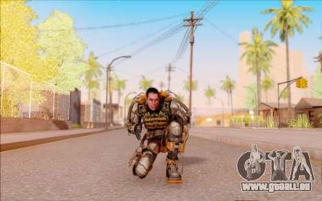 Degtyarev dans l'exosquelette de la Liberté de S pour GTA San Andreas cinquième écran