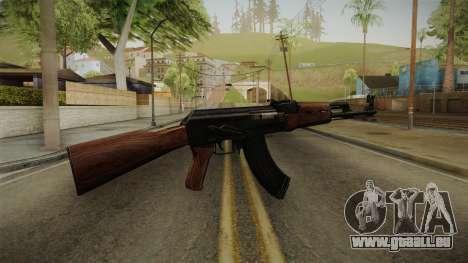 Call of Duty WWII AK-47 für GTA San Andreas zweiten Screenshot
