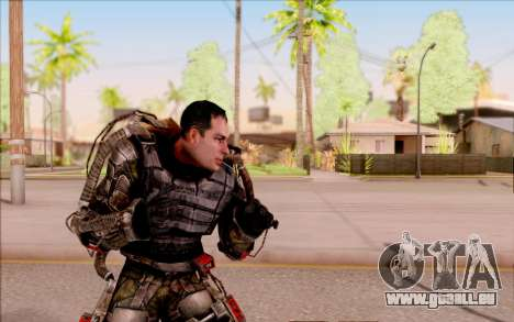 Degtyarev dans l'exosquelette de S. T. A. L. K.  pour GTA San Andreas