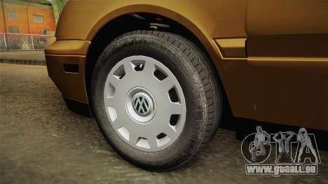 Volkswagen Jetta 1995 pour GTA San Andreas vue arrière
