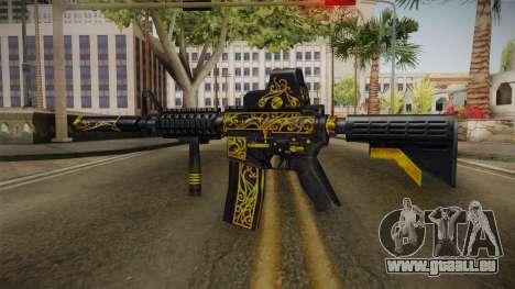 SFPH Playpark - Antique M4A1 pour GTA San Andreas deuxième écran