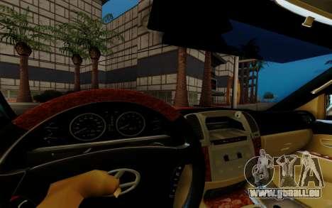 Lexus LX470 FBI pour GTA San Andreas vue arrière