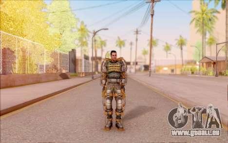 Degtyarev dans l'exosquelette de la Liberté de S pour GTA San Andreas deuxième écran
