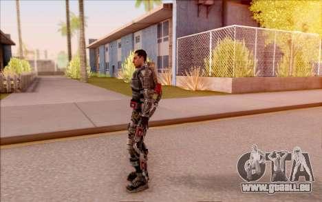 Degtyarev dans l'exosquelette de S. T. A. L. K.  pour GTA San Andreas quatrième écran