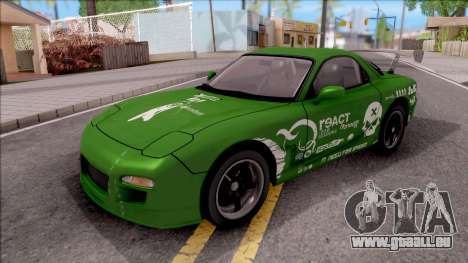 Mazda RX-7 NFS Undercover v2 für GTA San Andreas