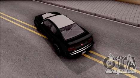 GTA V Bravado Buffalo Edition pour GTA San Andreas vue arrière