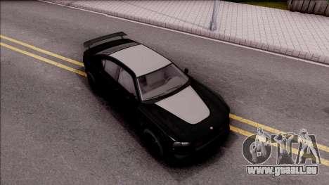 GTA V Bravado Buffalo Edition pour GTA San Andreas vue de droite