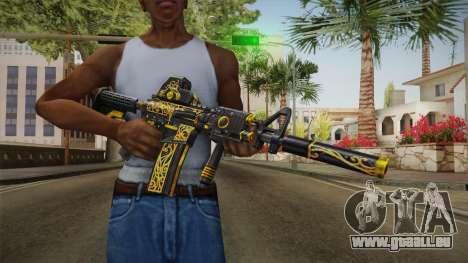 SFPH Playpark - Antique M4A1 pour GTA San Andreas troisième écran