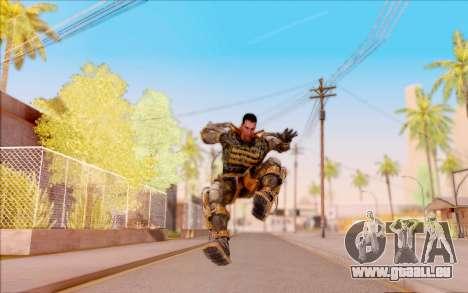 Degtyarev dans l'exosquelette de la Liberté de S pour GTA San Andreas sixième écran
