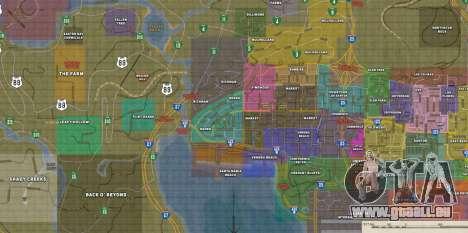 Happy MAP für GTA San Andreas zweiten Screenshot