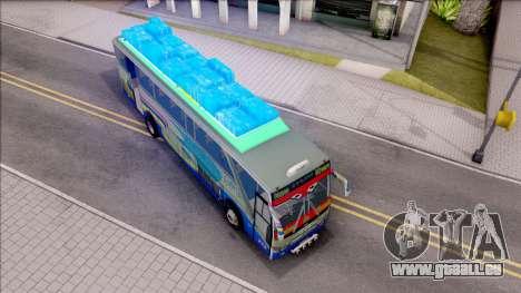 New Khan Bus G pour GTA San Andreas vue de droite