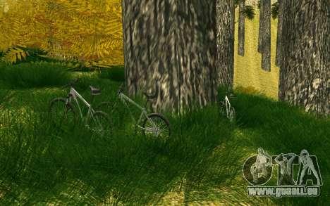 Eine Partei, die Radfahrer auf die Natur für GTA San Andreas siebten Screenshot