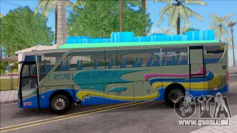 New Khan Bus G für GTA San Andreas linke Ansicht