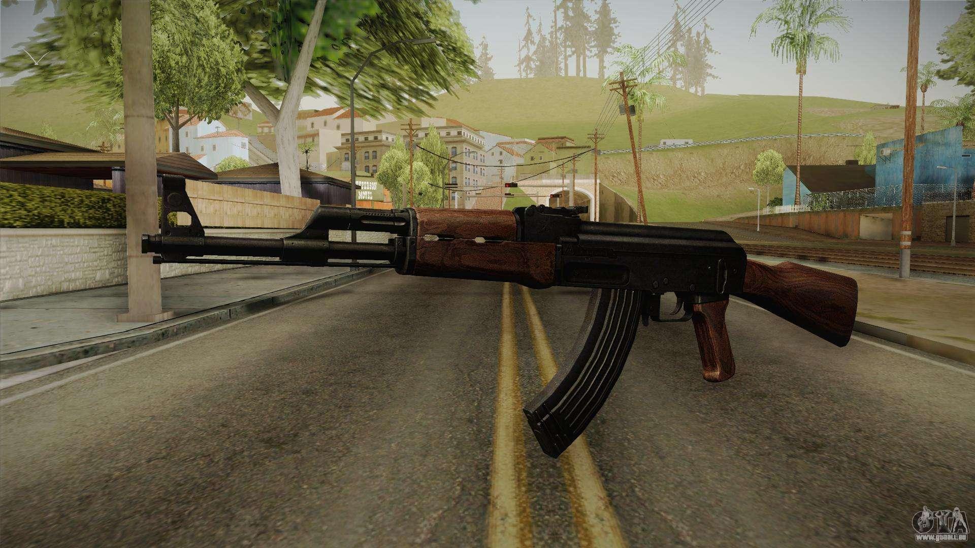 Call Of Duty Wwii Ak 47 Für Gta San Andreas