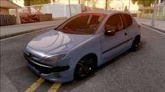 Peugeot 206 FR pour GTA San Andreas