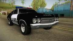 Chevrolet Chevelle SS Police LVPD 1970 v2 pour GTA San Andreas