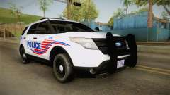 Ford Explorer 2013 Police pour GTA San Andreas