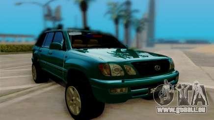 Lexus LX470 FBI für GTA San Andreas