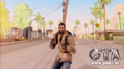 Vano de S. T. A. L. K. E. R. dans une veste en cuir pour GTA San Andreas