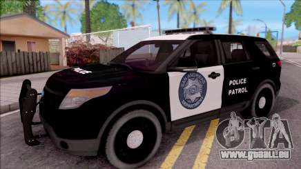 Ford Explorer Police San Andreas Patrol pour GTA San Andreas