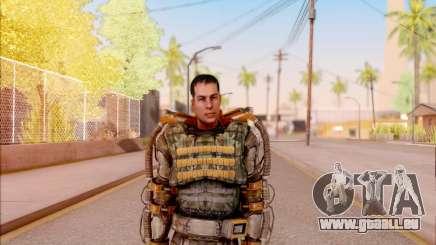 Degtyarev dans l'exosquelette de la Liberté de S. T. A. L. K. E. R. pour GTA San Andreas