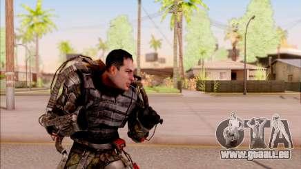 Degtyarev dans l'exosquelette de S. T. A. L. K. E. R. pour GTA San Andreas